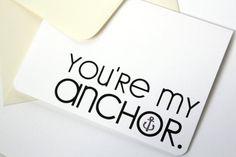 I Love You Card Anniversary Card Wedding Card by adelynSTONE, $4.00