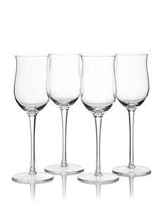 Ravenscroft Crystal Set of 4 Classic German Riesling Glasses