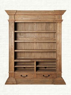 Kettering Bookcase In Natural