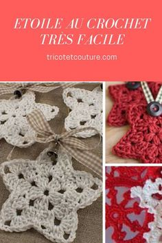 Crochet Diy Etoile au Crochet Très Facile - Today we show you how to make a simple Christmas crochet star. A fun and easy holiday project. Christmas Crochet Blanket, Crochet Kids Scarf, Easy Crochet Blanket, Crochet Stars, Christmas Crochet Patterns, Crochet For Boys, Crochet Blanket Patterns, Crochet Flowers, Christmas Afghan
