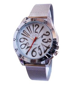 A Avon Analog White Dial Women's Watch – 1001678 in India. Deals and discount coupons for Branded watches. Display: Analog Dial Colour: White Gender: Women Strap material: Stainless Steel Strap Colour: Silver Wearability: Formal Deal24.in