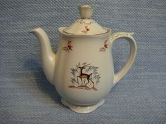 Teapot, Finland, Blessings, Blessed, Peace, Tableware, Vintage, Tea Pot, Dinnerware