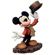"Mickey's Christmas Carol - Mickey Mouse Ornament - ""And a Merry Christmas to you..."" Retired Edition 7/99	$50"