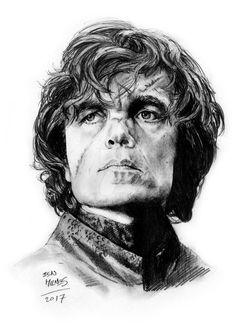 Tyrion Lannister (Peter Dinklage), pencil. by BenMilnesArt