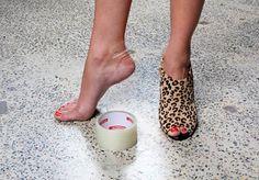 Yeni Ayakkabıların Vurmasını Önlemek İçin Ne Yapılır?