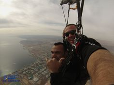 All the family skydived with Skydive.co.il over Eilat
