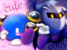 Cute or Cool? This is like one of the best things about Meta Knight because he can pull of both and still be awsome either way!