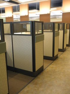 Office cubicle wall Tall Cubicles Designed To Be Complementary To The Wall Color Medical Office By Connecting Elements Alibabacom Best Office Cubicles Images Office Cubicles Office Spaces