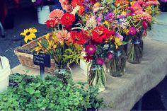 wild flower arrangements