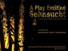 """A Play Entitled Sehnusucht, Screening, a film directed by Roy Badran. The title is based on the book, """"SehnSucht,"""" by Lebanese astronomer Bernard Zeidan. 'Sehnsucht' is a German word referring to the self..."""