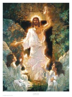 Glorious - The Resurrection.  Triumph of Life by Michael Dudash.