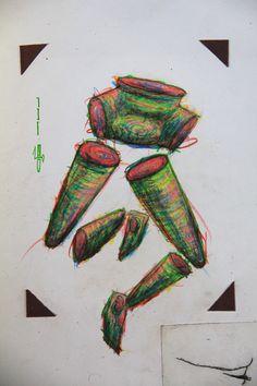 """€du∆rdo √.- drawings, crayons, marker - """"run"""""""