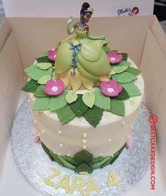 50 The Princess and the Frog Cake Design (Cake Idea) - October 2019 Peter Pan Cakes, Aladdin Cake, 5th Birthday, Birthday Cake, Snow White Cake, Frog Cakes, Lion King Cakes, Cool Cake Designs, Cake Flour