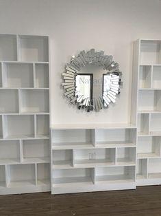 decor Lion Mirror Luxury 0961446565 Luxury Mirror, New Room, Wall Art Decor, Living Room Decor, Bookcase, Shelves, Modern, House, Home Decor