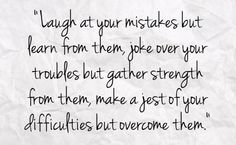 laughter / strength