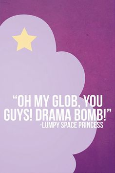 Drama bomb! Omg I love LSP!!