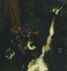 """uulemnts: """" Franz von Stuck, The Wild Hunt (detail), 1899 """""""