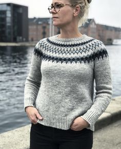 Ravelry: Sirius pattern by Camilla Vad One Piece Top, Fair Isles, Fair Isle Knitting, Sweater Design, Camilla, Men Sweater, Knit Sweaters, Ravelry, Knit Crochet