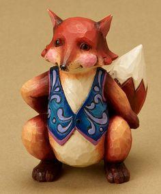 Fox Mini Figurine by Jim Shore