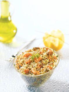 Salade gourmande au quinoa et aux perles Japon - une recette...