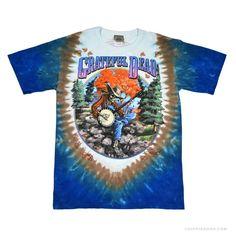 Grateful Dead  Banjo Tie Dye T Shirt