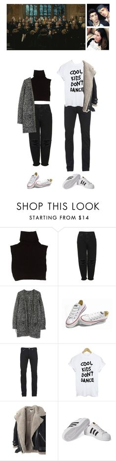 """""""[RLP] Frog Choir auditions"""" by ohhmyguinness ❤ liked on Polyvore featuring Marc Jacobs, Boutique, Converse, Paul Smith, Acne Studios and adidas Originals"""