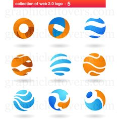 2962-collection-of-abstract-circle-logos.jpg 500×500 pixels
