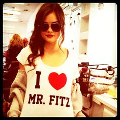 Mr Fitz is hot<3