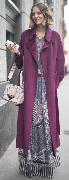 Candela Novembre at Milan Fashion Week
