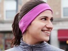 These wireless running headphone headbands, discovered by The Grommet, make for ultra-comfortable listening while you run.