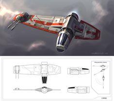 Concept Designs by Rodrigo Galdino Nave Star Wars, Star Wars Rpg, Star Wars Ships, Star Wars Rebels, Space Ship Concept Art, Concept Ships, Spaceship Design, Spaceship Concept, Lego Spaceship