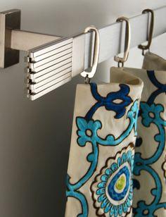 Super thin! Manhattan Collection by Brimar.  #brimar  #drapery hardware