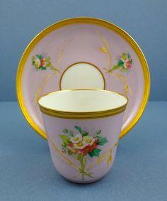 Fragile Antique Paris Tea Cup & Saucer                                                                                                                                                                                 More