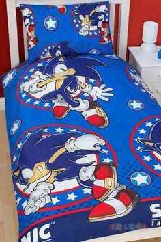 Parure de lit Sonic the Hedgehog  http://www.toluki.com/prod.php?id=555 #Toluki #enfant #chambre