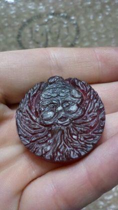 Santa pin/ pendant