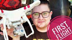 DJI Phantom 2 Vision Plus   First Time Flying a Drone