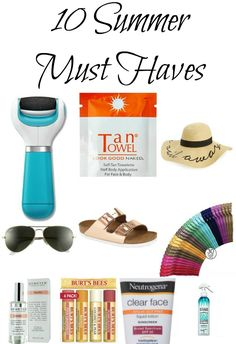 10 Summer Must Haves