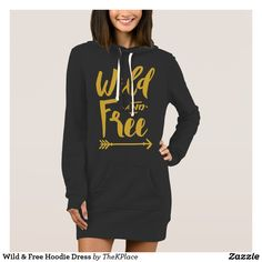 Wild & Free Hoodie Dress