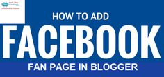 How to Add Facebook Page Widget in Blogger