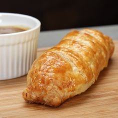 Bangers And Mash Sausage Rolls Recipe by Tasty Here's what you need: sausages, mashed potato, puff pastry, egg, onion gravy Scottish Recipes, Irish Recipes, English Recipes, Sausage Recipes, Pork Recipes, Recipies, Pastry Recipes, Cooking Recipes, Sausage And Mash