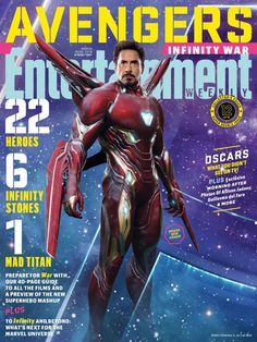Avengers Infinity War: Up close with EW's 15 new covers
