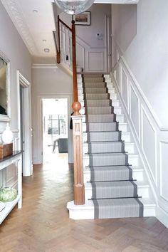 Image result for stair runner ideas