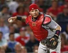 "97.  Yadier Molina #4  -  nicknamed ""Yadi"", is a Puerto Rican professional baseball catcher for the St. Louis Cardinals"