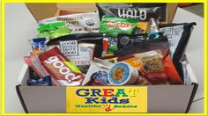 GREAT Kids Snack Box - October Unboxing!