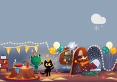 Google Weather, New Year's Eve 2020, Snow Showers, New Years Eve, Fans, Android, Night, Search, Cute