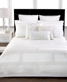 Hotel Collection Frame White Bedding Collection - Bedding Collections - Bed & Bath - Macy's