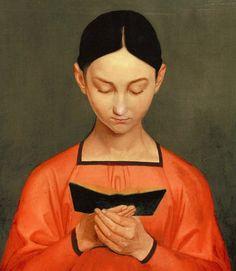 Mujer leyendo.  Pieter Janssens Elinga (1623-1682)  Neerlandés.