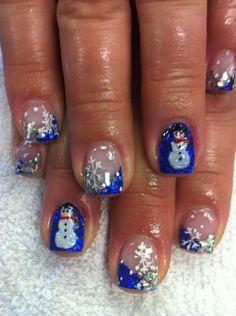 christmas-acrylic-nail-art-3d-christmas-acrylic-nail-art