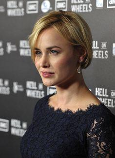 Dominique McElligott | Dominique McElligott Actress Dominique McElligott arrives at the ...