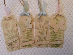 my stampart - stampin up tag biutterfly basics